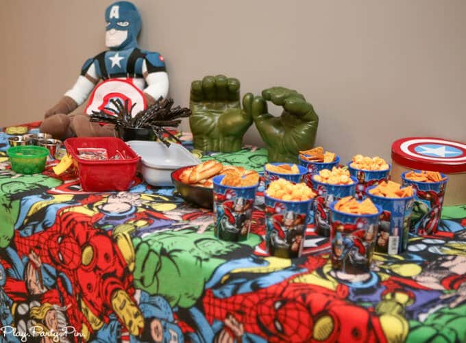Avengers Birthday Party Decorations