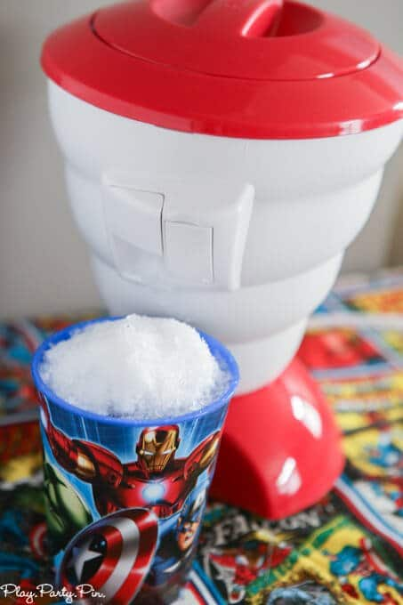 Avengers party games and ideas