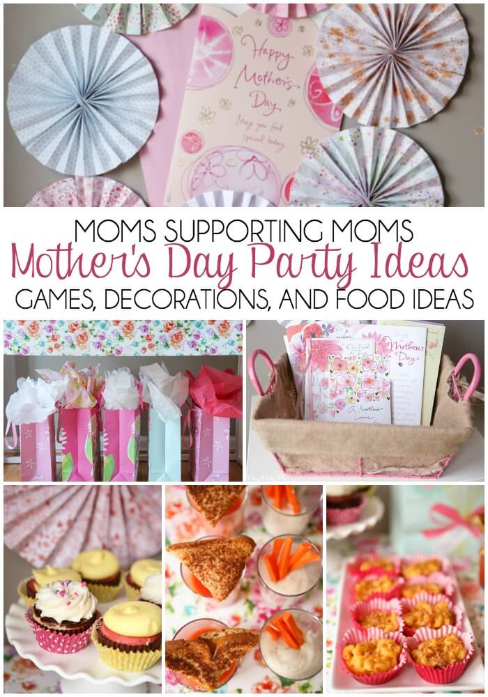 Moms Helping Moms Mother 39 S Day Party Ideas