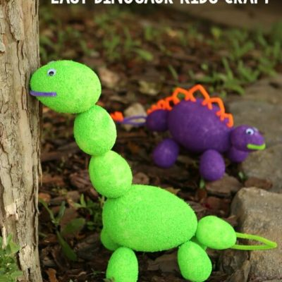 Easy Dinosaur Craft Ideas for Kids