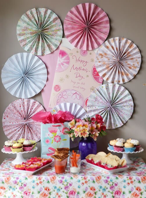 Moms helping mother s day party ideas