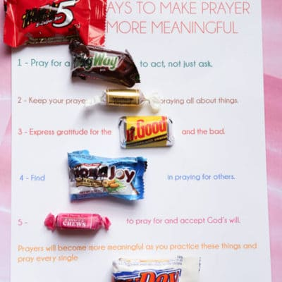 Free Printable Prayer Lesson Handouts
