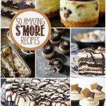 50 amazing s'mores recipes and s'more desserts in one place! Perfect summer desserts! I'm having s'mores every day this summer!