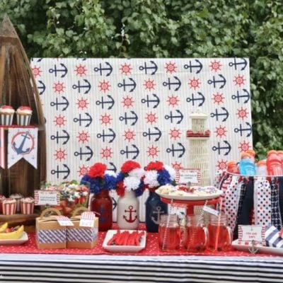 Nautical 4th of July Party Ideas