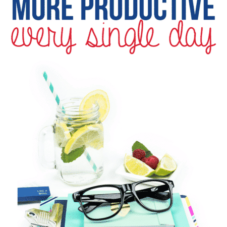 Productivity tips for getting more done each day