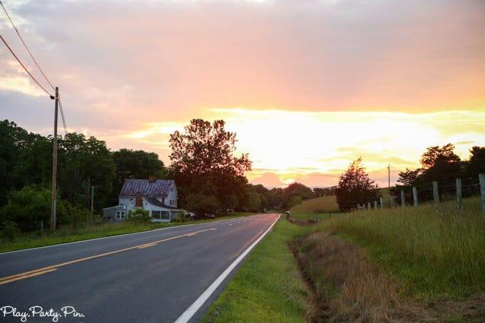 Shenandoah Valley Sunset