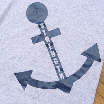 DIY Anchor Shirt with Embark Cutouts & Blog Hop
