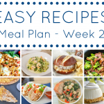 An entire week's worth of easy dinner recipes