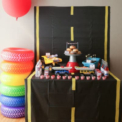 Pop-A-Wheelie Boy Birthday Party Ideas