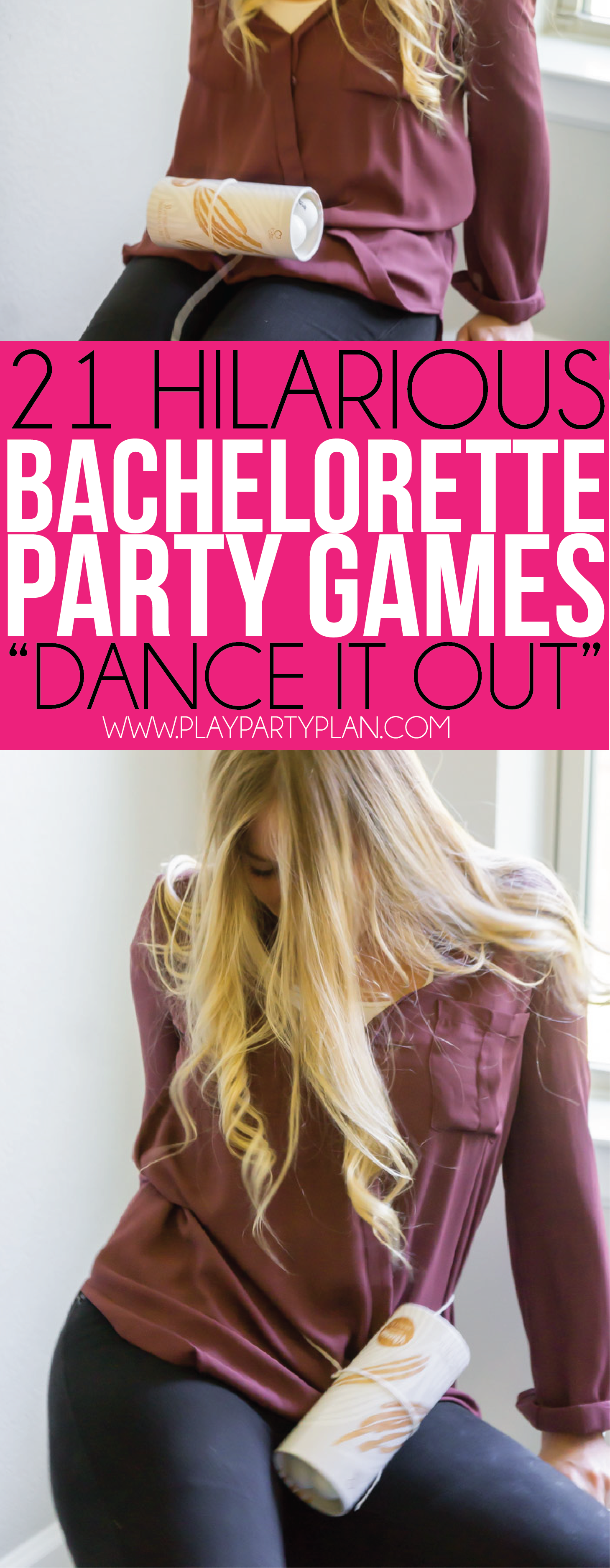 This lap dance game is one of the best bachelorette party games