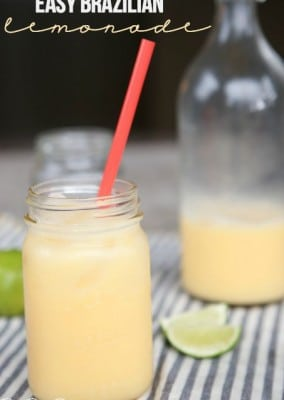 Easy Brazilian Lemonade Recipe