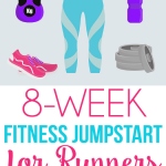 Eight week fitness plan specifically for runners with tons of great workout ideas