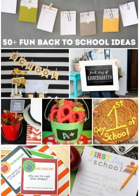 50 back to school ideas to turn going back to school into something fun!