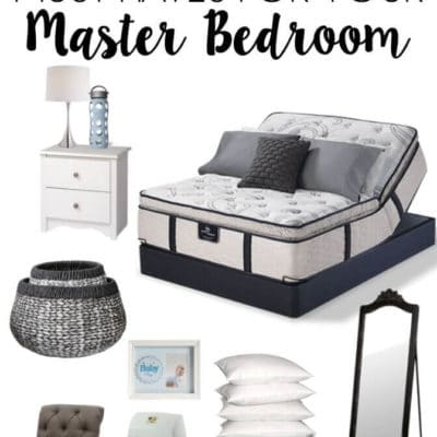 10+ Must-Have Items for the Perfect Master Bedroom