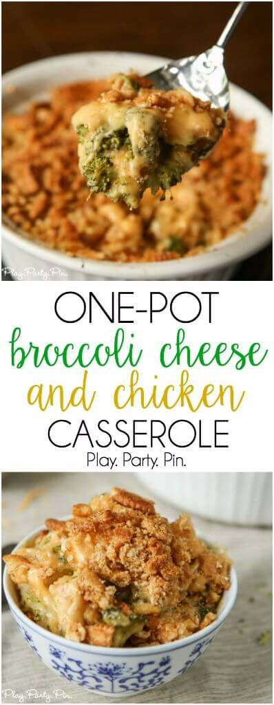 This broccoli cheese casserole is a great easy dinner recipe, perfect for busy weeknight dinners!