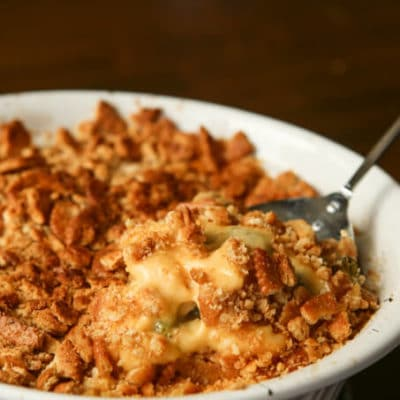 Easy Broccoli Cheese Chicken Casserole Recipe & Giveaway