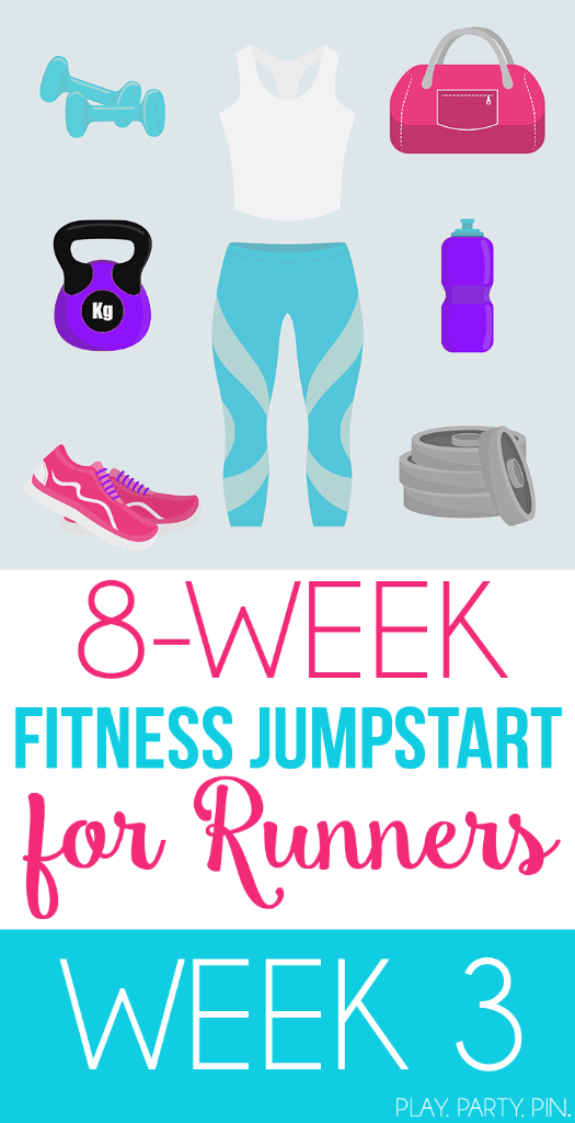 8 Weeks worth of running workouts, perfect to jumpstart your fitness!