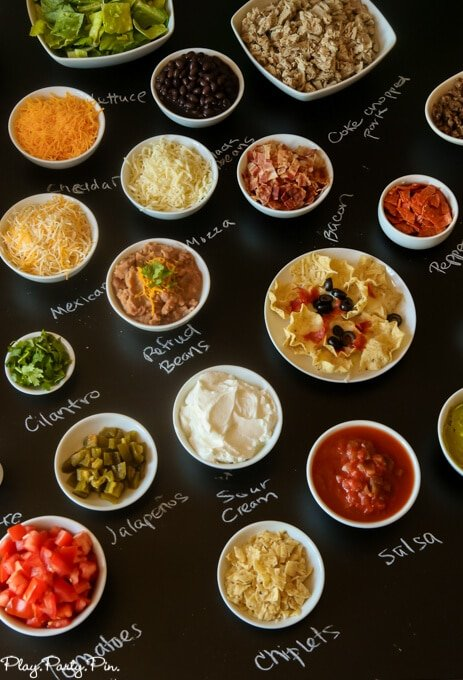 Ordinaire Love This DIY Nacho Bar With Free Printables For A Football Party, How Fun  Are