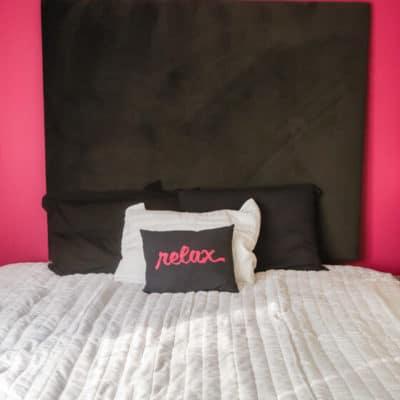 Master Bed Makeover