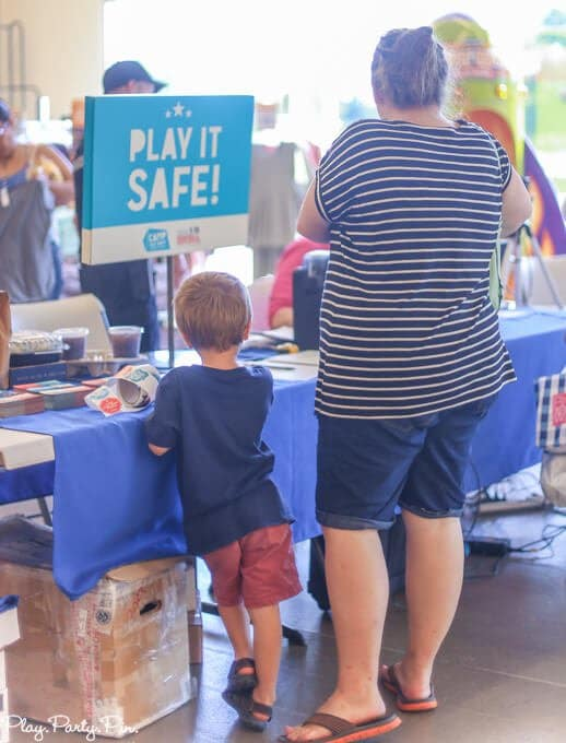 Old Navy Play it Safe Event