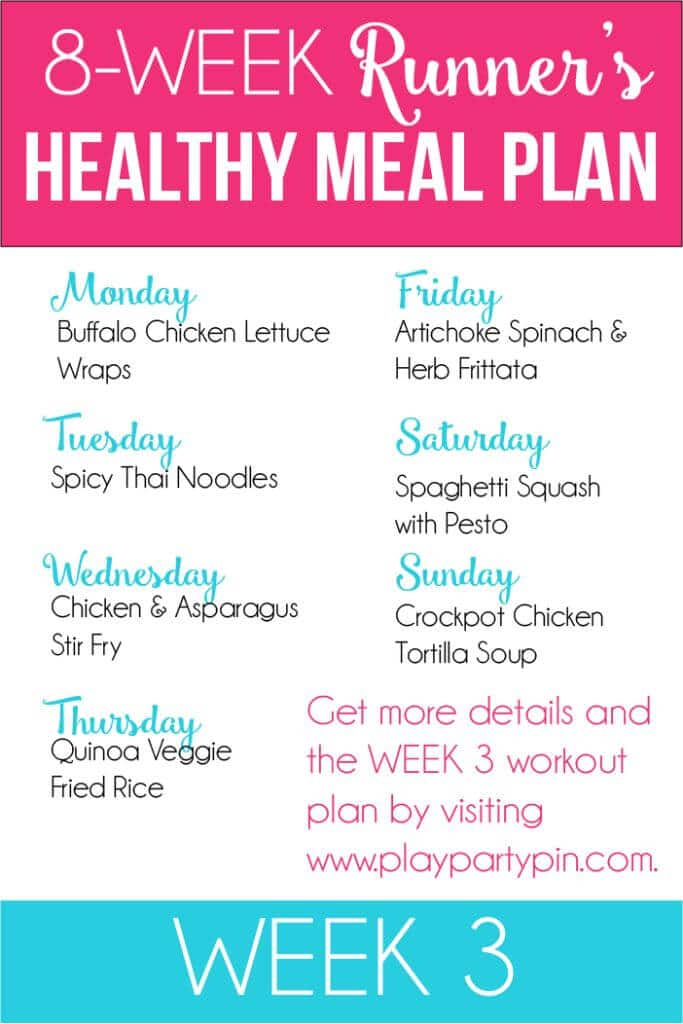 A week worth of healthy recipes perfect for jumpstarting your fitness!