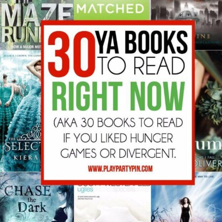 30 great young adult books to read if you liked Divergent or Hunger Games! Some of the best books to read this year.