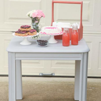How to Paint a Chalk Paint® Table for Parties