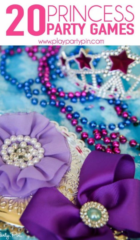 20 princess party games that girls will love, perfect party games for girls and princess lovers from www.playpartyplan.com