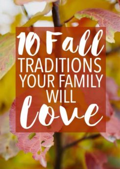 10 fall traditions your family will love, I especially love #9!