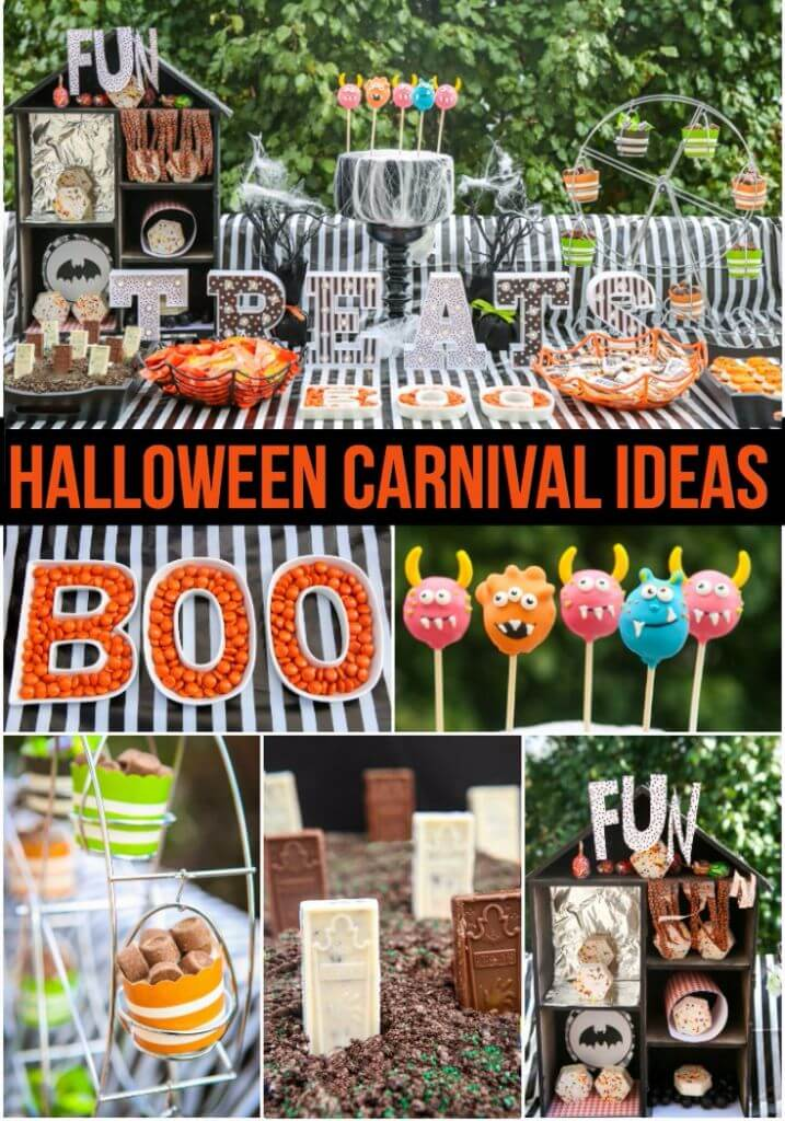 Carnival Halloween Party Ideas.Halloween Carnival Ideas