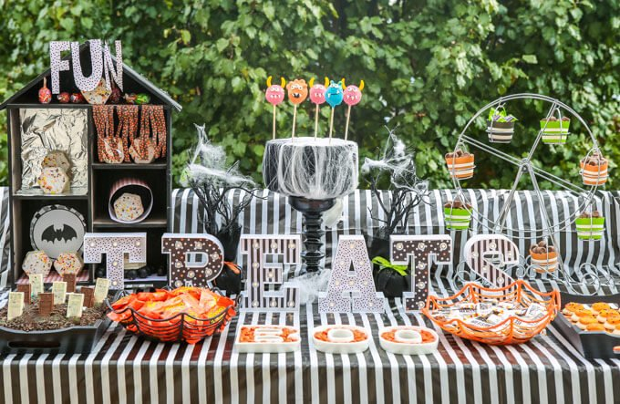 Carnival themed Halloween party ideas