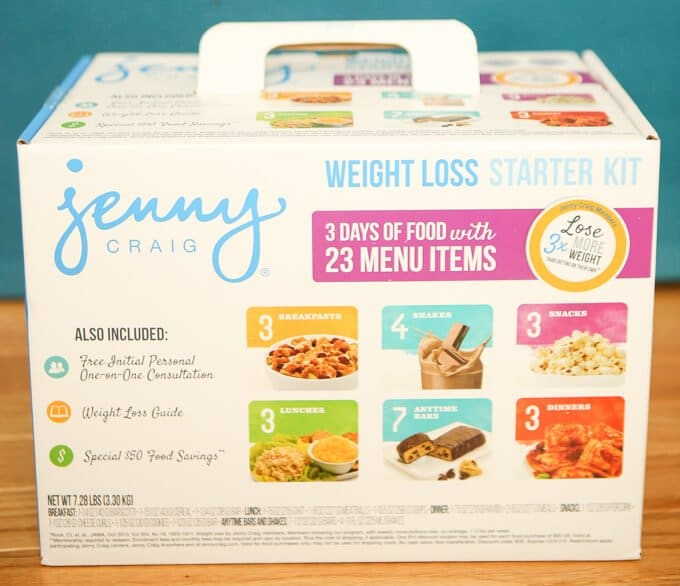 Trying out the Jenny Craig 3 Day Trial Kit