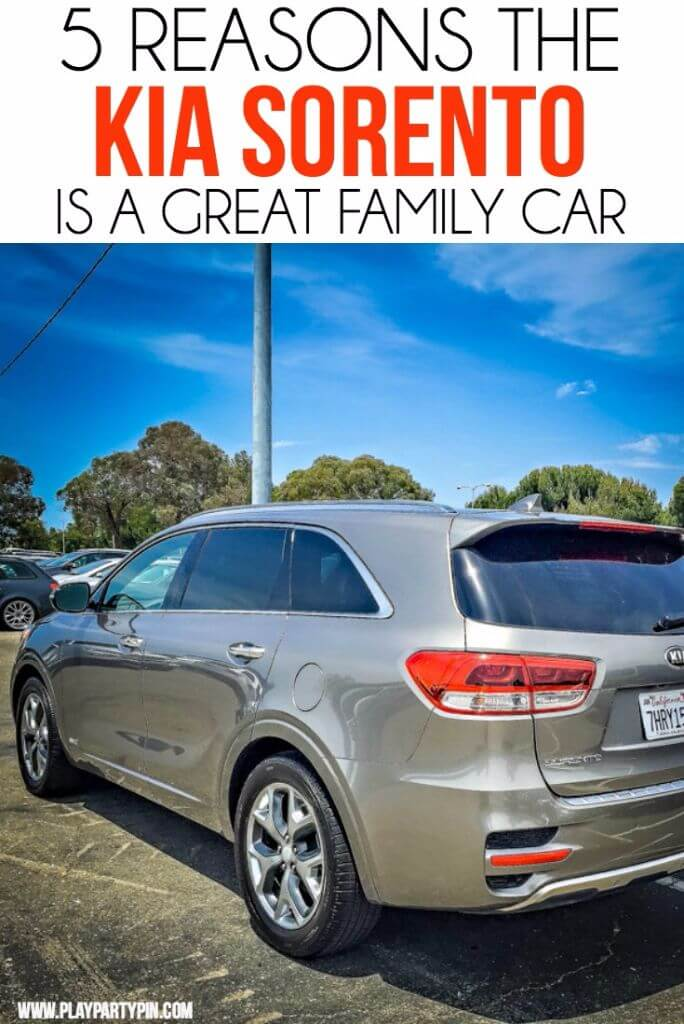 5 reasons the Kia Sorento is one of the best cars for families!