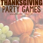 30 Great Thanksgiving Party Games