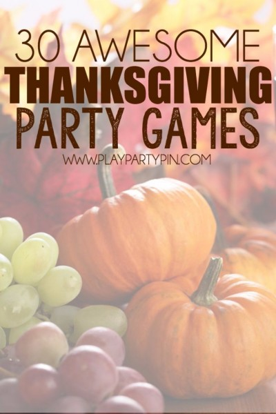 30+ Entertaining Thanksgiving Games to Play Together