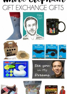 Hilarious White Elephant Gift Ideas & Giveaway