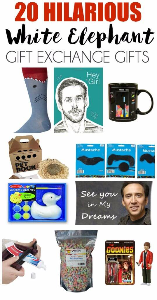 Hilarious white elephant gift ideas Good gifts for gift exchange