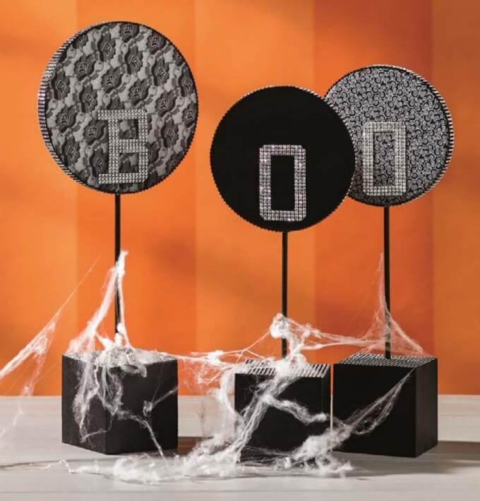 Halloween Boo Letters Craft using Make It: Fun foam!