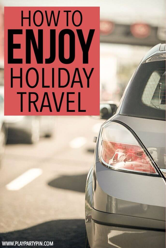 Great tips for surviving holiday travel! I especially love the last one, so helpful to remember!
