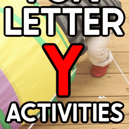 Seven letter Y activities to keep kids entertained all day long! Everything from a yarn maze to some yellow foods and more!