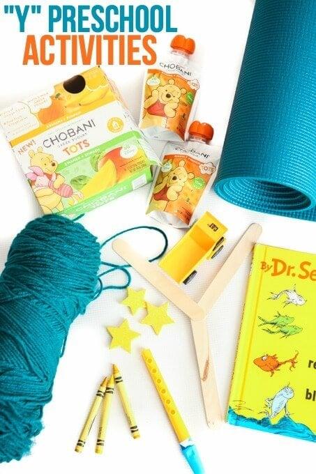 Y Preschool Activities