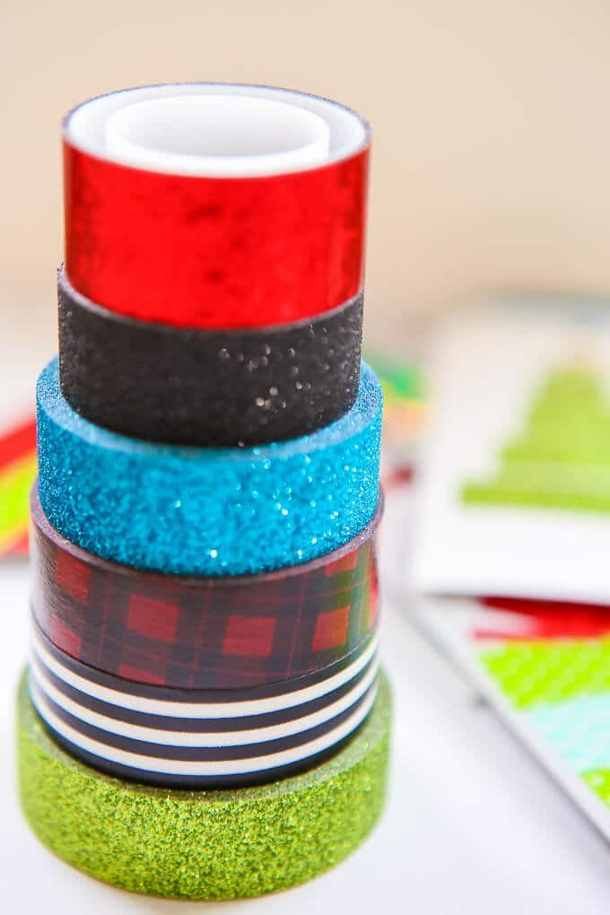 These Christmas gift tags are one of the easiest DIY crafts and they can go with any kind of wrapping paper! Even if you don't have the best gift ideas, DIY your gift tags to turn not so great Christmas ideas into awesome gifts! Or if you don't want to put them on gifts, wrap up a plate of cookies or cupcakes and add one of these tags. The Rudolph one is my favorite.
