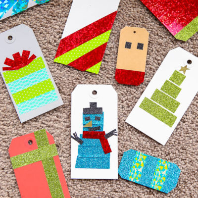 DIY Gift Tags with Washi Tape