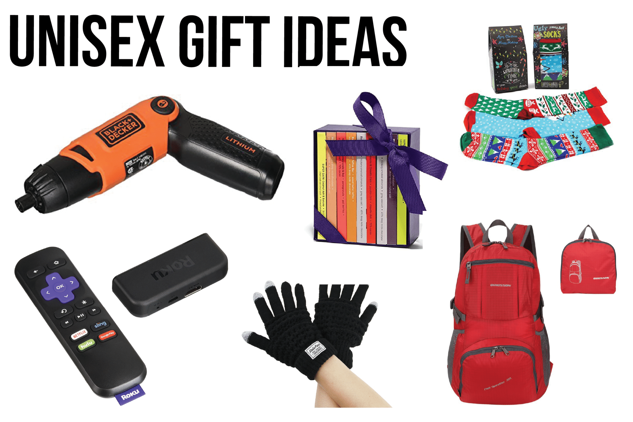 Unisex and neutral gift exchange gift ideas including some great white elephant gifts and white elephant gift ideas