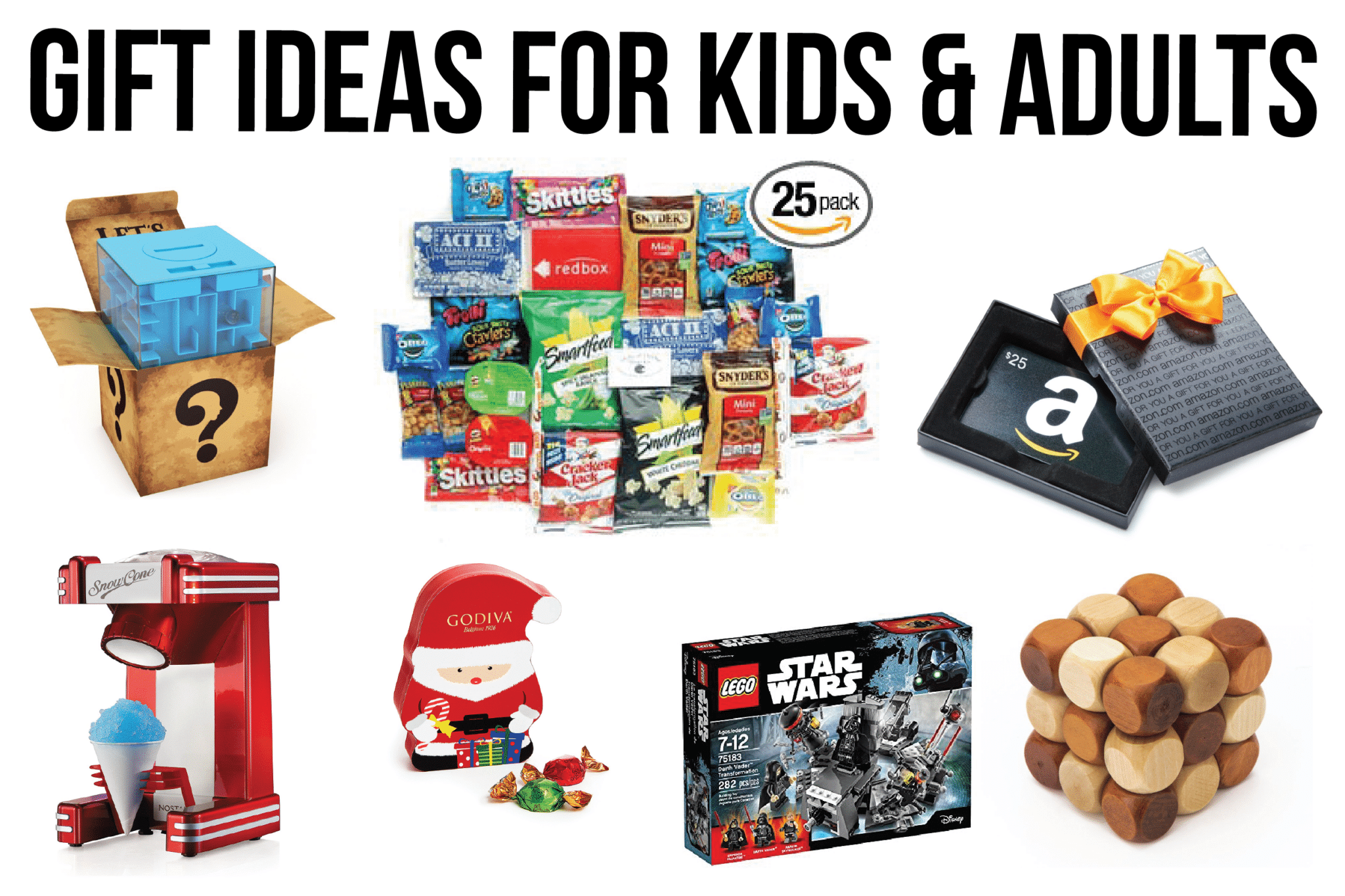 White elephant gifts and more fun gift ideas that work well for kids and adults
