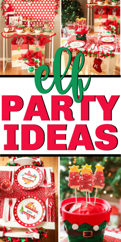 Fun Elf on the Shelf party ideas! Everything from elf themed food to games and more!