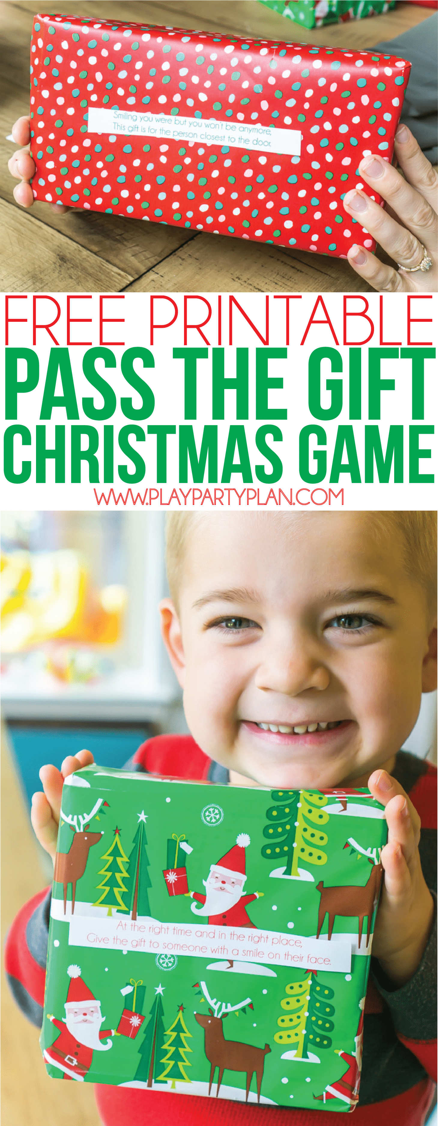 A gift exchange game perfect for holiday parties