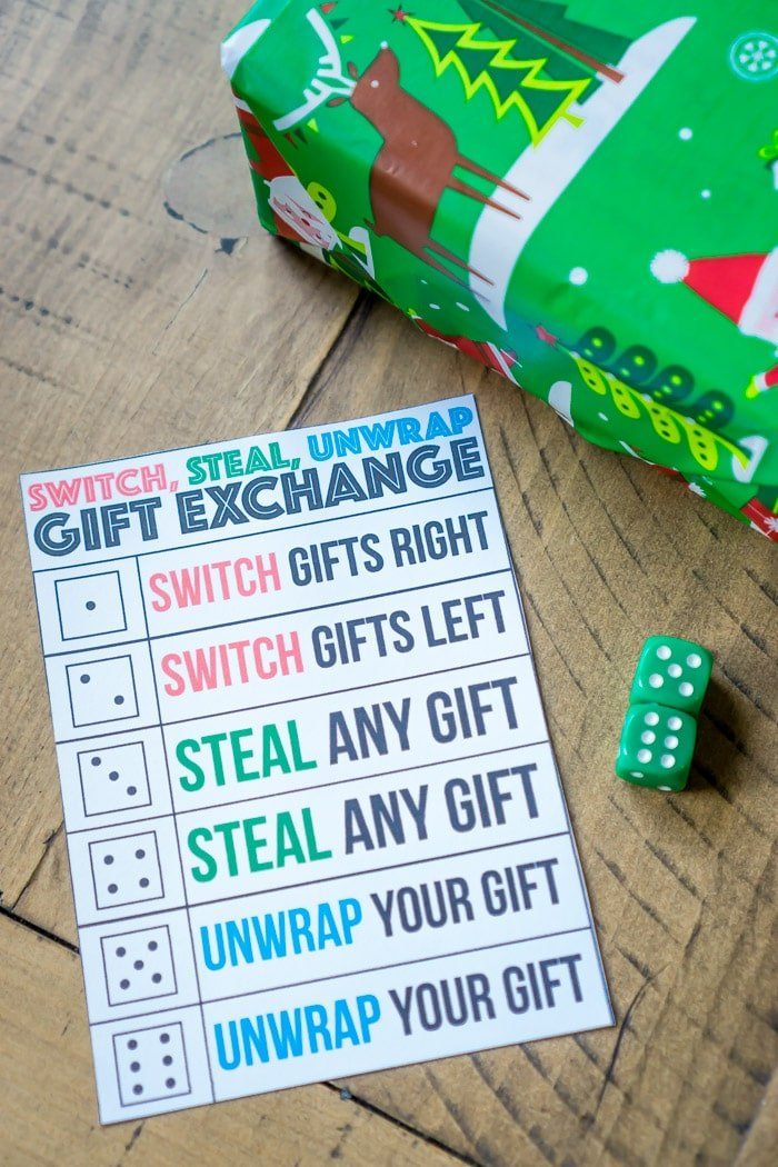 One of the best gift exchange game ideas ever, this sounds so fun!