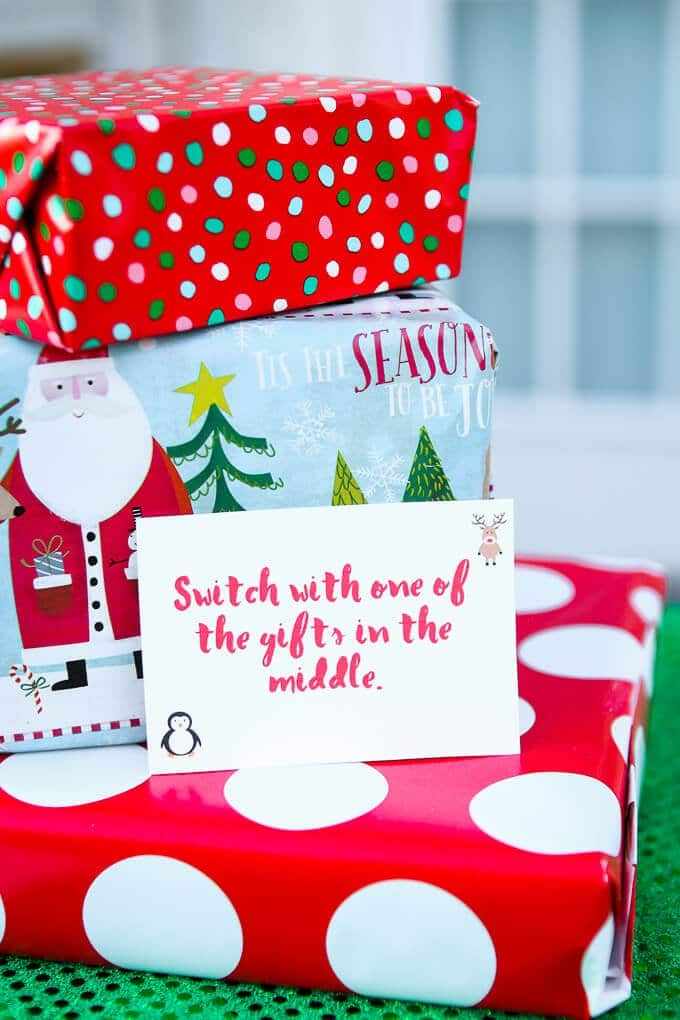 Free printable exchange cards for the best holiday gift exchange love this fun twist on traditional gift exchange games free printable cards to use for negle