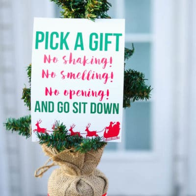 Gift Exchange Pick a Card Game & Tips for Hosting the Best Gift Exchange Game